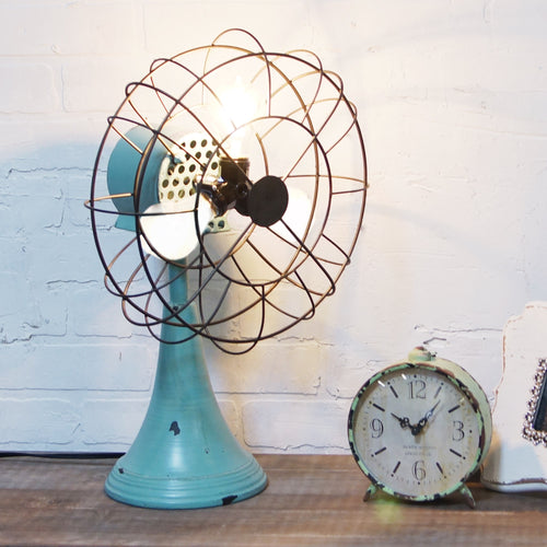 Vintage Triple Light Fan Reproduction