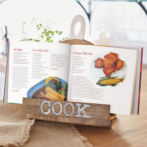 Large Paddle Cookbook Holder