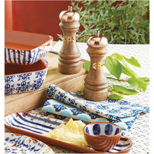 Copper and Wood Salt and Pepper Mill Set