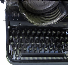 Authentic Vintage Typewriter