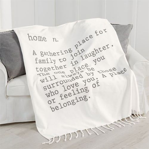 Home Definition Blanket