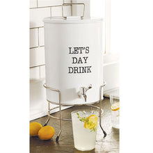 Let's Day Drink Enamel Drink Dispenser Set