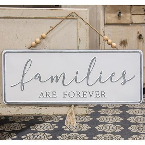 Families are Forever Metal Wall Decor