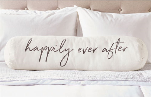 Happily Ever After Oversized Bolster Pillow