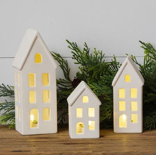 Lighted Houses, Set of 3