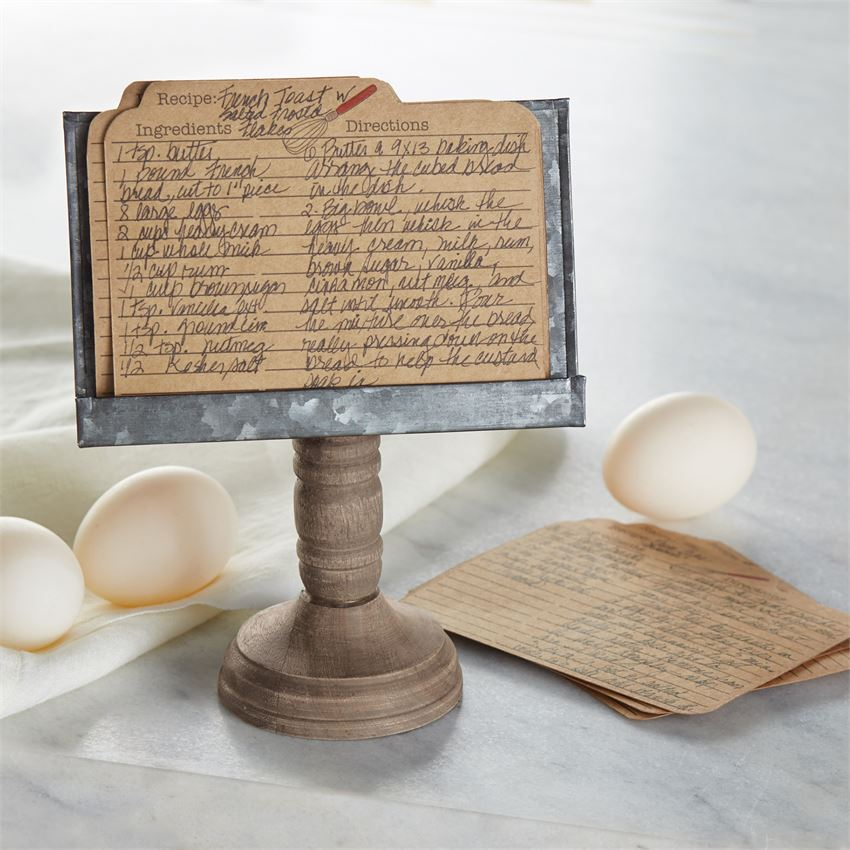 Recipe Stand & Card Set