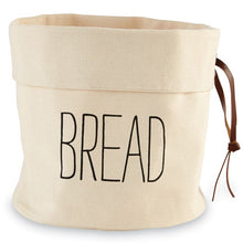 Canvas Bread and Baguette Baskets, Set of 2