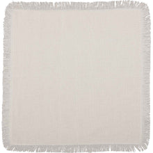 Oatmeal Fringe Napkins, Set of 6