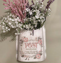 Vintage Embossed Flowers POST Box