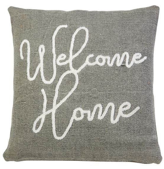 Welcome Home Boucle Pillow