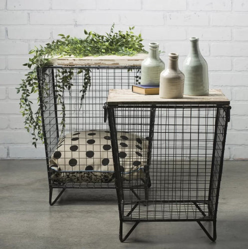 Ava Cage Tables, Set of 2