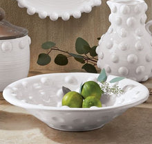 LARGE Raised Dot Centerpiece Bowl