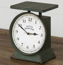 Vintage Inspired Farmhouse Scale Clock