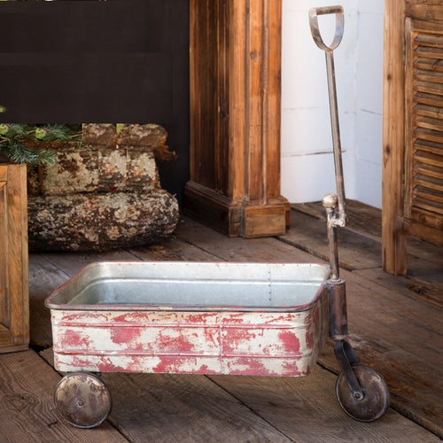 Large Vintage Inspired Pull Cart