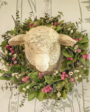 Lamb Head Wall Decor