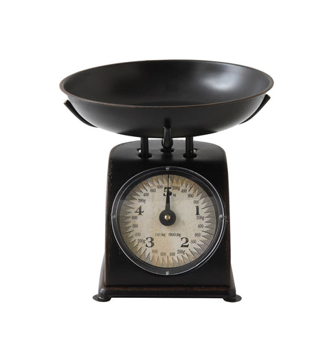 Antique Black Vintage Style Scale