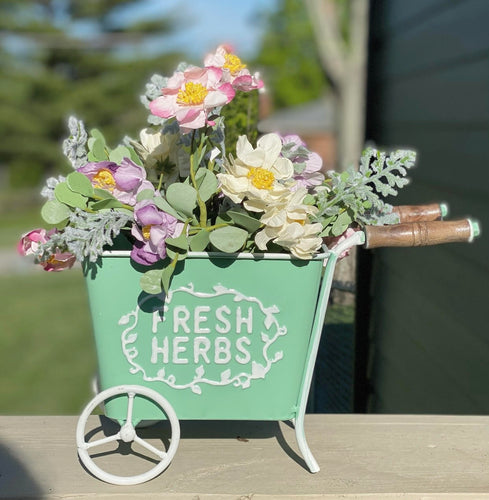 Fresh Herbs Cart