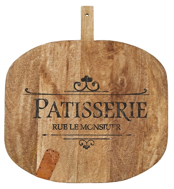 HUGE Patisserie Wooden Paddle/Cutting Board
