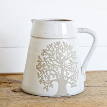 Stout Tree of Life Ceramic Pitcher
