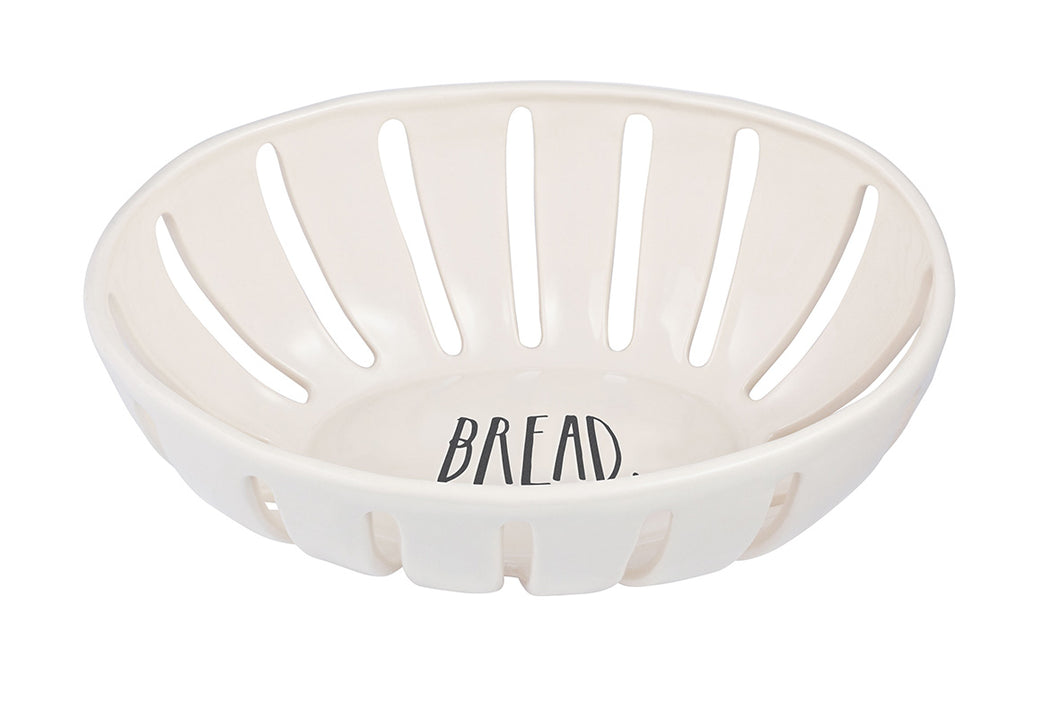 New Rae Dunn Stem Print Bread Basket