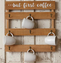 But First Coffee Wall Mug Hanger