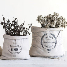 Small Cement Feed Sack Planter