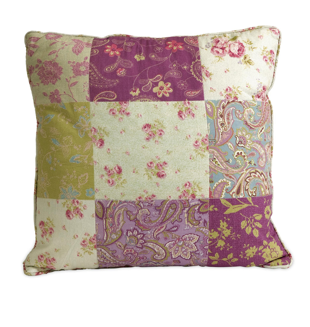 Etta May Patchwork Pillow