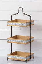 HUGE 3 Shelf Organizer with Embossed Edging