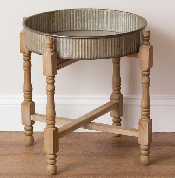 Shanty Chic Spindle Leg Side Table