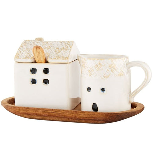House Cream & Sugar Set
