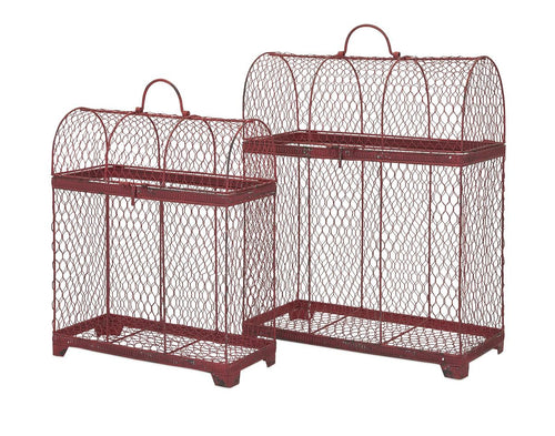 Cynthiana Bird Cages - Set of 2