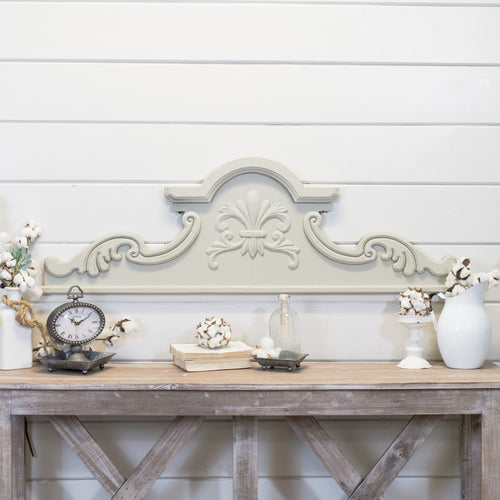 Wood Scroll Wall Decor