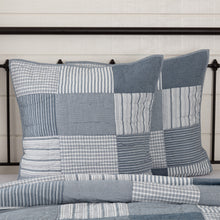 Sawyer Mill Blue Quilted Euro Shams, Set of 2