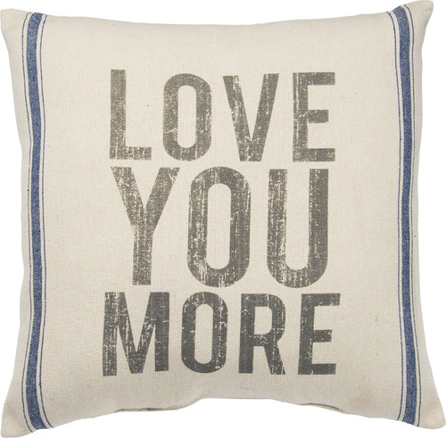 Primitives By Kathy Oversized Love You More Pillow