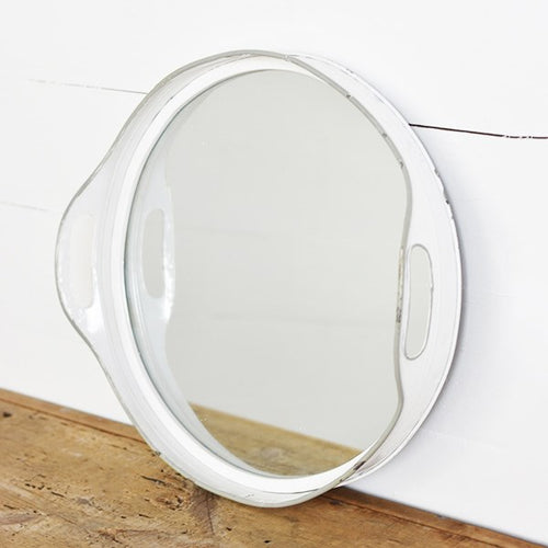 LARGE Repurposed Tray Mirror