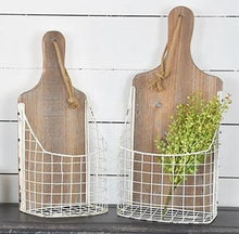 Cutting Board Baskets, Set of 2