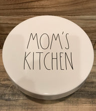 "New Rae Dunn ""MOM'S KITCHEN"" Cake Stand"