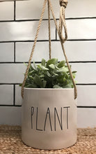 New Rae Dunn PLANT Hanging Planter