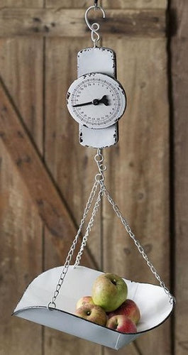 Decorative Enamel Hanging Produce Scale