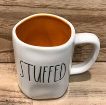 New Rae Dunn STUFFED Mug with Orange Interior