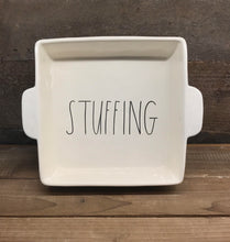 "New Rae Dunn by Magenta Large ""STUFFING"" Casserole Dish/Pan"