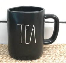 "New Rae Dunn Black ""Tea"" Mug"