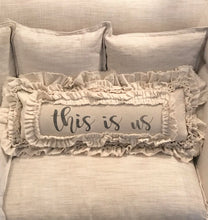 Handmade Vintage Inspired This Is Us Pillow Cover
