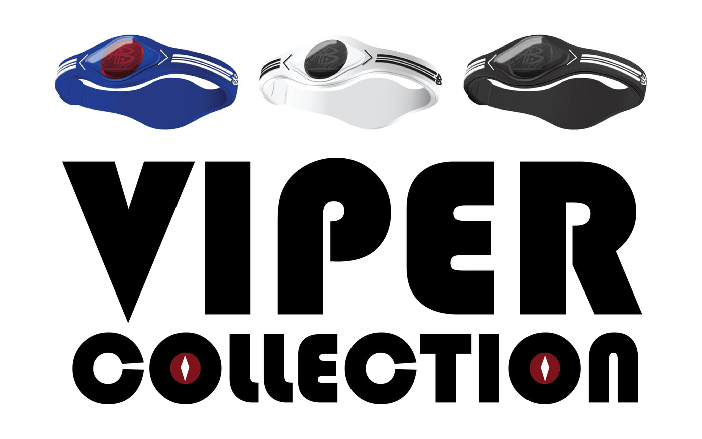 The Viper Collection Features Three Stripes and is Crafted from 100/% Surgical Grade Silicone. Power Balance Taking Inspiration from The Fast Lines and Stripes from Sports Viper
