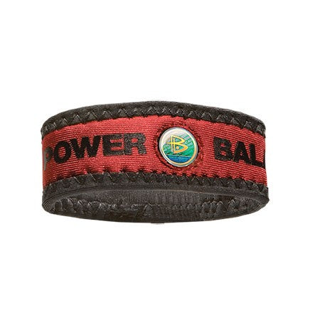 Red PB FABA Neoprene Wristband