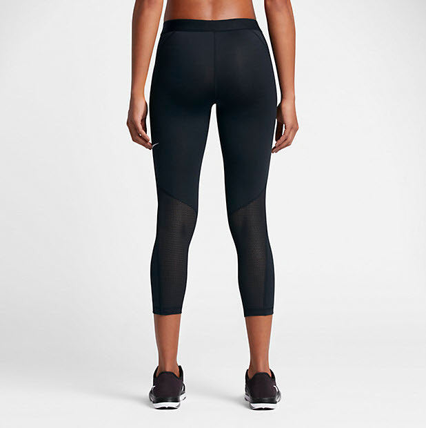 Black PB FABA Womens Long Sports Capris