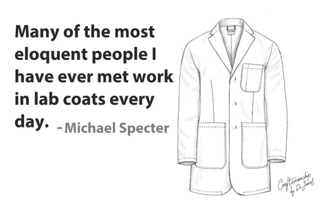 speaking in front of an audience best tips lab coat professionals