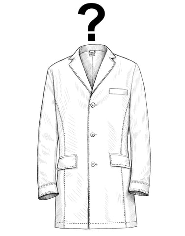 women entering science dr james designer lab coat