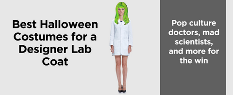 halloween lab coats