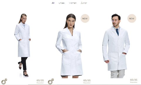 where can i buy a white lab coat